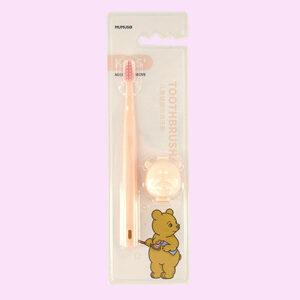 mumuso cepillo de dientes para niños (rosa)