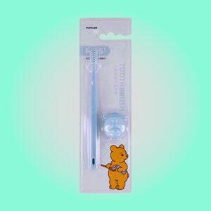 mumuso cepillo de dientes para niños (azul)
