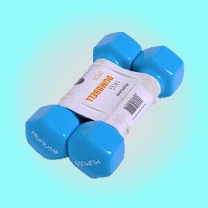 """""""mumuso pesa ejercicio (1kg / 2-pack / azul)"""""""